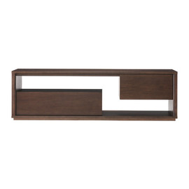 IDEE - CONTOUR TV CABINET Walnut