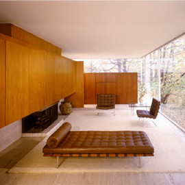Mies van der Rohe - Farnsworth House, Interior