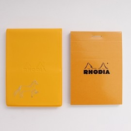 PASS THE BATON - RHODIA No.11 IN COLOR YL/Horse