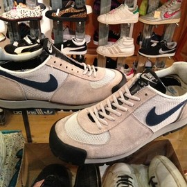 """NIKE - 「<used>1980s NIKE LAVADOME grey/navy""""made in USA"""" size:US9?(27cm?) 14800yen」販売中"""