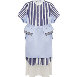 sacai - shirt dress