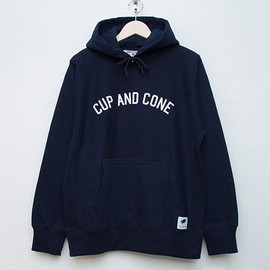 cup and cone - Arch Logo Hoodie - Navy