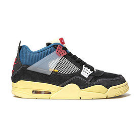 UNION, NIKE - UNION JORDAN AIR JORDAN 4 RETRO SP  OFF NOIR