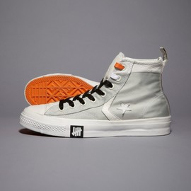 converse - Undefeated + Converse Ballistic Star Player High White