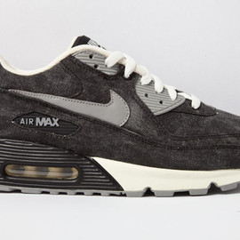 NIKE - NIKE AIR MAX 90 (BLACK CANVAS)
