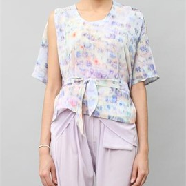creatures of comfort - Anntian Silk Top- Anorthit