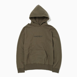 THE POOL AOYAMA - FRAGMENT OLIVE HOODIE