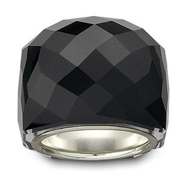 Swarovski - NIRVANA Black Flash Ring