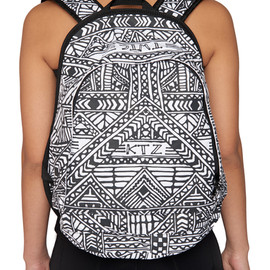 KTZ - Protected: Henna Tattoo Printed Backpack