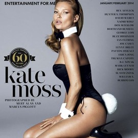 Playboy - 60th Anniversary Kate Moss Cover