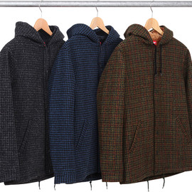 Supreme, Harris Tweed - Harris Tweed Hooded Coaches Jacket