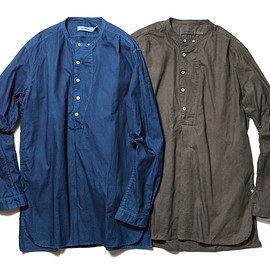 SOPHNET., NONNATIVE - SCIENTIST PULLOVER LONG SHIRT