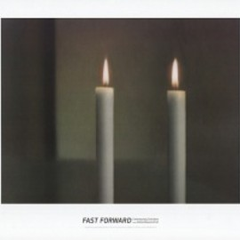 Gerhard Richter - Two Candles ポスター