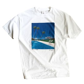 永井博 × mas. - URBAN RESORT HIGHWAY TEE