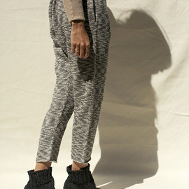 Lauren Manoogian - Arch Pants, Charcoal & White