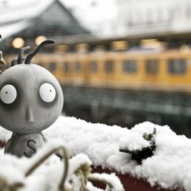 Tim Burton - Stainboy and his first snow, Berlin 2012