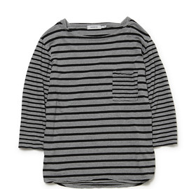 nonnative - SAILOR BOAT QS COTTON BORDER JERSEY