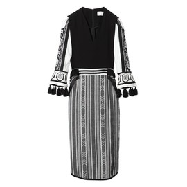 mame - GEOMETRIC PATTERN DRESS