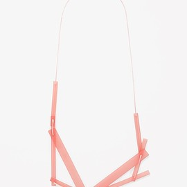 COS - LAYERED PERSPEX NECKLACE