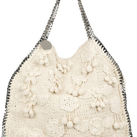 STELLA McCARTNEY - Falabella Large Crocheted Shoulder Bag