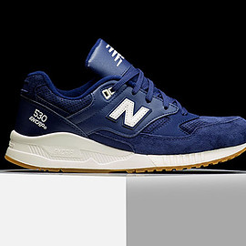 New Balance - M530 (Solids) - Navy Blue/White/Gum