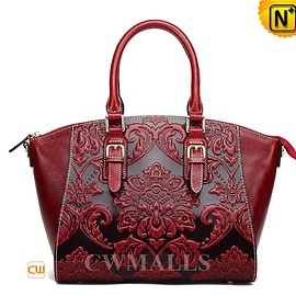 cwmalls - CWMALLS Womens Leather Buckle Totes CW206313