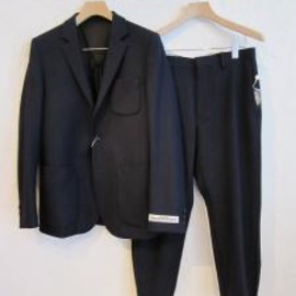UNIVERSAL PRODUCTS - WOOL GABARDINE 3 BUTTON JACKET&TAIPERED SLACKS