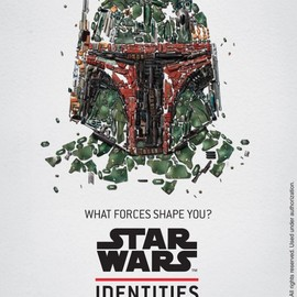 STAR WARS Identities: The Exhibition - poster(Boba Fett)