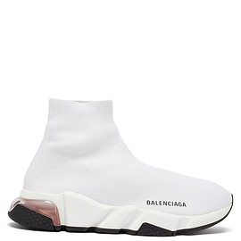 BALENCIAGA - Speed bubble-heel recycled-knit trainers
