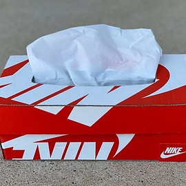 NIKE, knyo419 - Upcycling Tissue Paper Box - Red/White