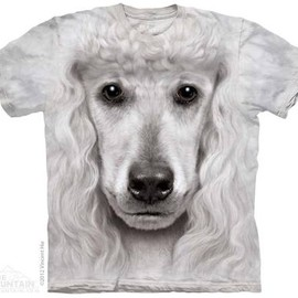 THE MOUNTAIN - POODLE FACE T-SHIRT