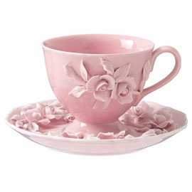 Rambling - Rose Cup and Saucer