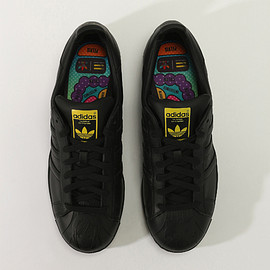 "adidas, Pharrell Williams, Mr. - Superstar ""Supershell Sculpted"" Artwork Collection: Mr."