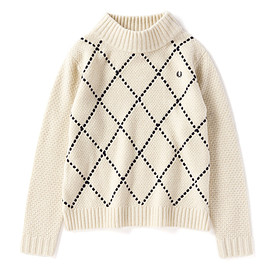 FRED PERRY - TEXTURED SWEATER