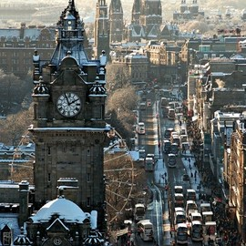 Edinburgh, Scotland - Princes Street