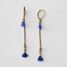 BIJOUX ISABEL MARANT - WHO AGAIN THREAD TASSLE EARRING