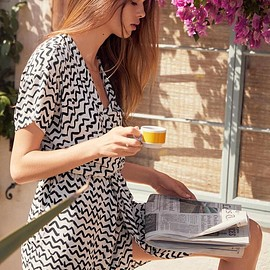 & Other Stories - & Other Stories Wrap Mini Dress