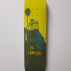 FTC - evan hecox for FTC SKATE DECK