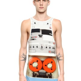 GIVENCHY - COTTON JERSEY COLUMBIAN FIT TANK TOP