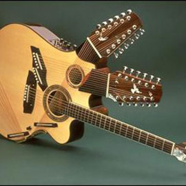 manzer guitars - 'Pikasso' 42string guitar for Pat Metheny