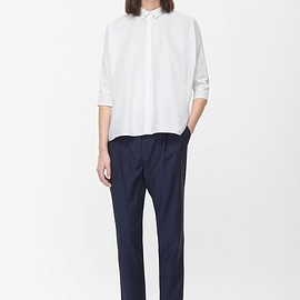 COS - Loose-fit wool trousers