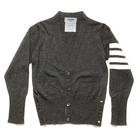 Thom Browne - Varsity Cardigan, Grey