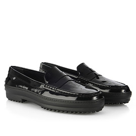 TOD'S - Winter Gommino Patent Leather Loafers