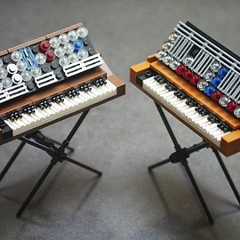 LEGO, grobie87 - Mini Moog Synthesizers
