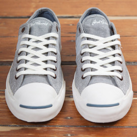 CONVERSE - First String: JACK PURCELL JP JOHNNY OX - GOBLIN BLUE
