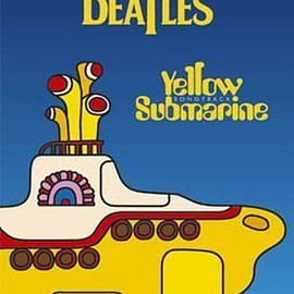 THE BEATLES - THE BEATLES「YELLOW SUBMARINE」ポスター