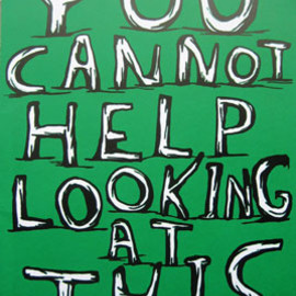 "David Shrigley - ""You cannot help looking at this"""