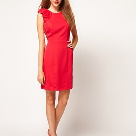 asos - Image 4 of A Wear Ruffle Sleeve Dress