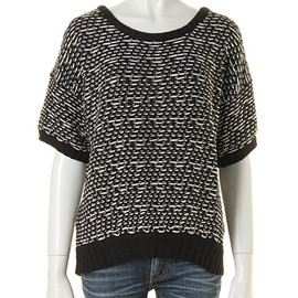 SLY - MIX Knit半袖TOPS