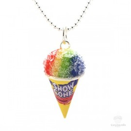 Scented Snow Cone Necklace カキ氷アイスネックレス